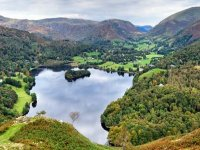 The Lake District from above