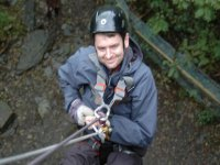 Abseiling is great fun!