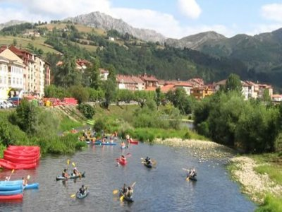 Sella river descent by canoe + 2 nights at a hotel