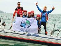 Coasteering team