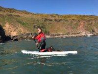 Paddleboarding in South Devon