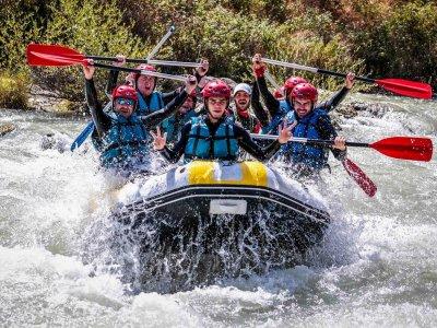 Short rafting route in Genil Kids + Lodge