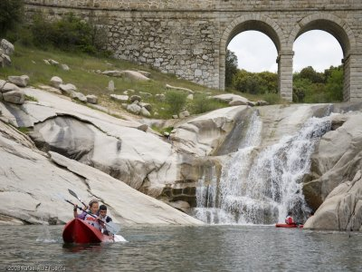 Private Canoeing North Mountains of Madrid, 3h