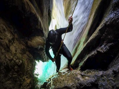 Canyoning río Verde + night bungalow