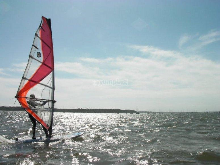 Windsurfing in Poole