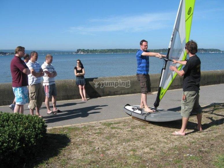Beginners Windsurfing Simulator