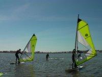 Beginners Windsurfing Lesson