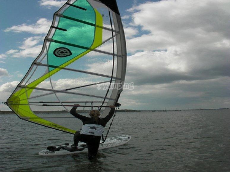 Intermediate Windsurfing Lesson