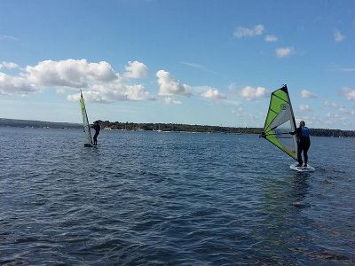 Full Beginner Windsurfing Course in Poole 6 Hours