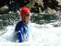 Coasteering jump, Salcombe