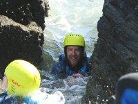 coasteering salcombe gara rock southwest adventure south watersports - South Devon