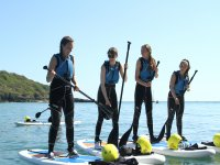 Our hen party loved the warm weather and paddleboarding
