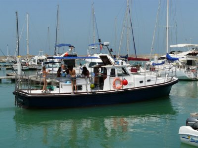 Navigating for half a day, Chiclana or Rota