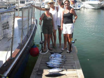 Half-day of fishing, price for kids