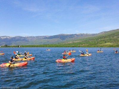 Canoeing Introduction Lozoya for 2 Hours