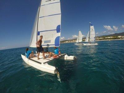 Catamaran Sailing Course In Calella, 10h