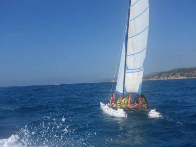 Sailing course in catamaran, Calella
