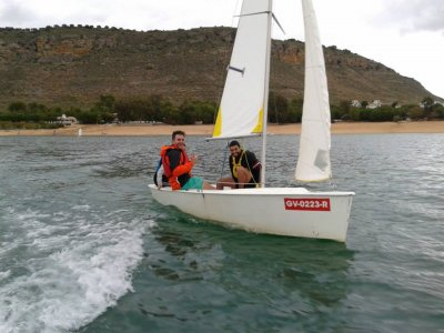 Canoeing and sail with accommodation 1d