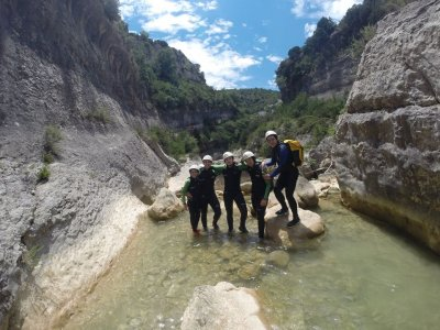 2 Canyoning Descents in the Sierra of Guara
