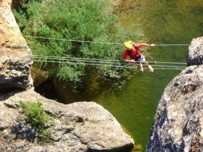 Canyoning + via ferrata, Huesca