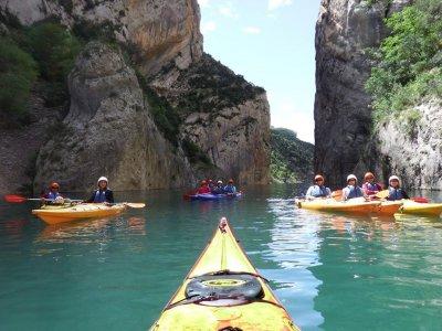 Kayak rental Mont Rebei and hiking La Pertusa