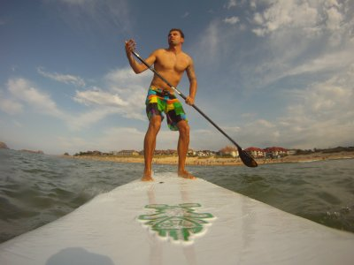 Paddle surf session and night in Noja