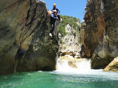 Water canyoning, level III, Sierra de Guara
