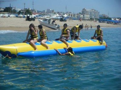 Ride on Banana Boat for 12m, Calella