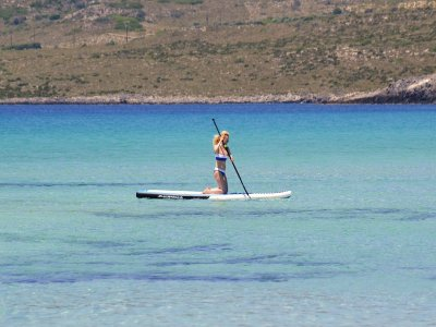Stand Up Paddle Surf Course 2h rental + route