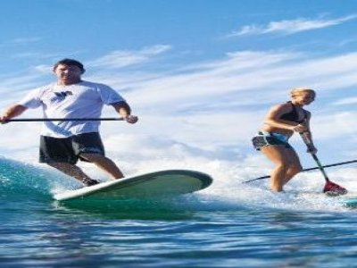 Stand Up Paddle Surf Rental in Playa Cristal - 1h
