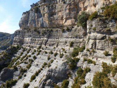 Hiking for a whole day in Sierra de Guara