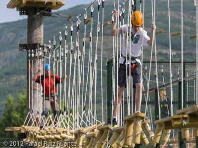 Ropes course, more than 4.4 ft Lozoya, 1 floor