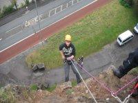 Rock Climbing is fun.