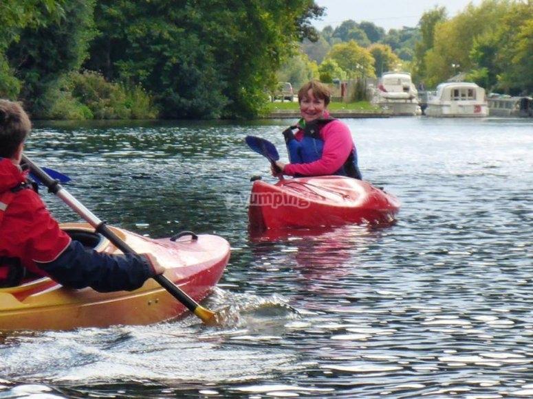 Canoeing/Kayaking Taster River Session