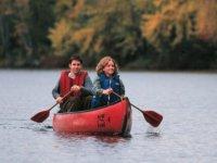 Canoeing Loch Ard