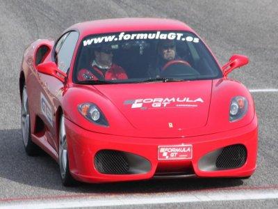 Driving a Ferrari in Barcelona 11 kilometres