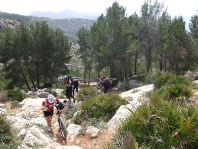 Route for 3 days in Tarifa Travessa, without MTB
