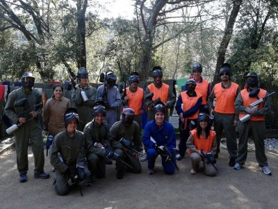 Paintball 200 balls + takeshi's game + lunch