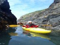 Kayaking around Pembrokeshire