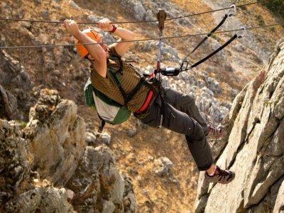 Rafting descent + mountain climbing in Archidona