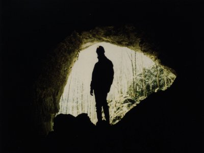 Caving in Tío Manolo's Cave, Cuenca