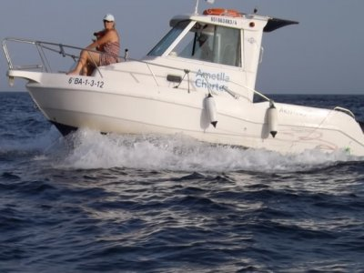 Boat without captain rental, 5h