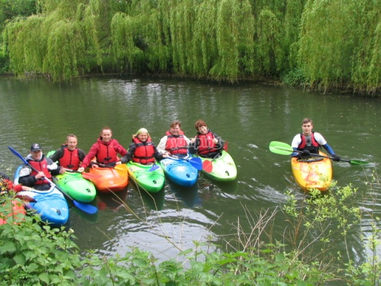Paddling with youth groups