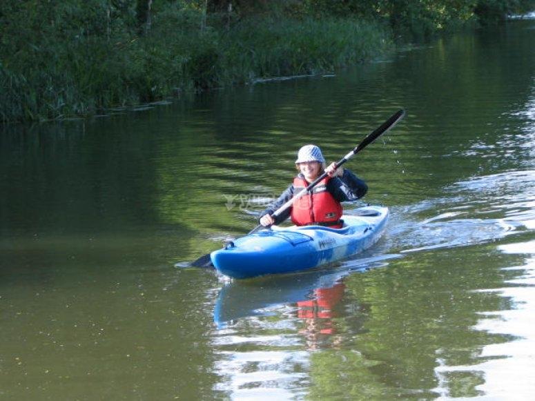 River lea Paddling