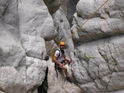 Descend of the Barranc de l'Infern, level 2 dry