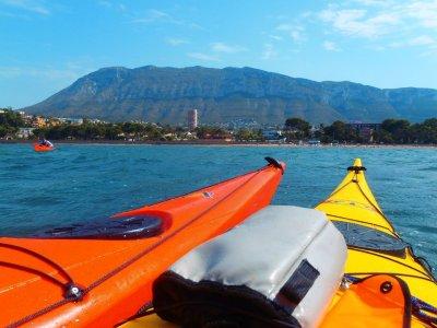 Treasure hunting, single kayak adventure