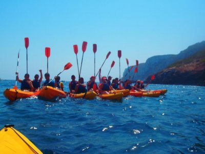 Double kayak route for beginners