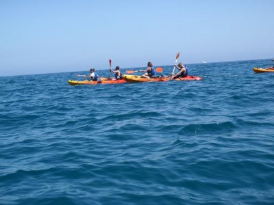 15 km double kayak route + picnic