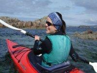 Sunny paddling