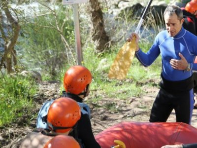Whitewater Canoeing Noguera 3 Hours